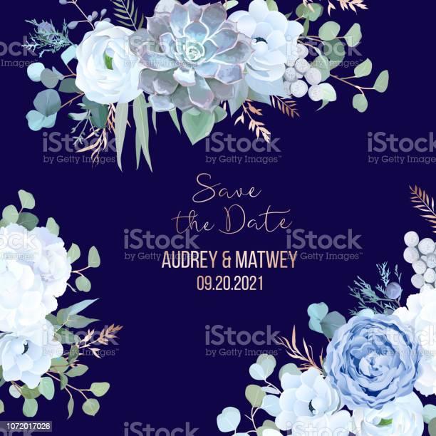 Dusty blue rose echeveria succulent white hydrangea ranunculus vector id1072017026?b=1&k=6&m=1072017026&s=612x612&h=nk9tppuqan0qgquz51zolmqagecexw8j6czo0sj05b0=