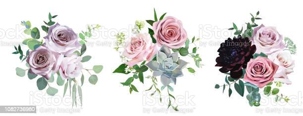 Dusty pink and mauve antique rose pale flowers vector design wedding vector id1082736980?b=1&k=6&m=1082736980&s=612x612&h=as4wtsb5vmcnd fjqtl405lfk2c7gztqreil4dd1dss=