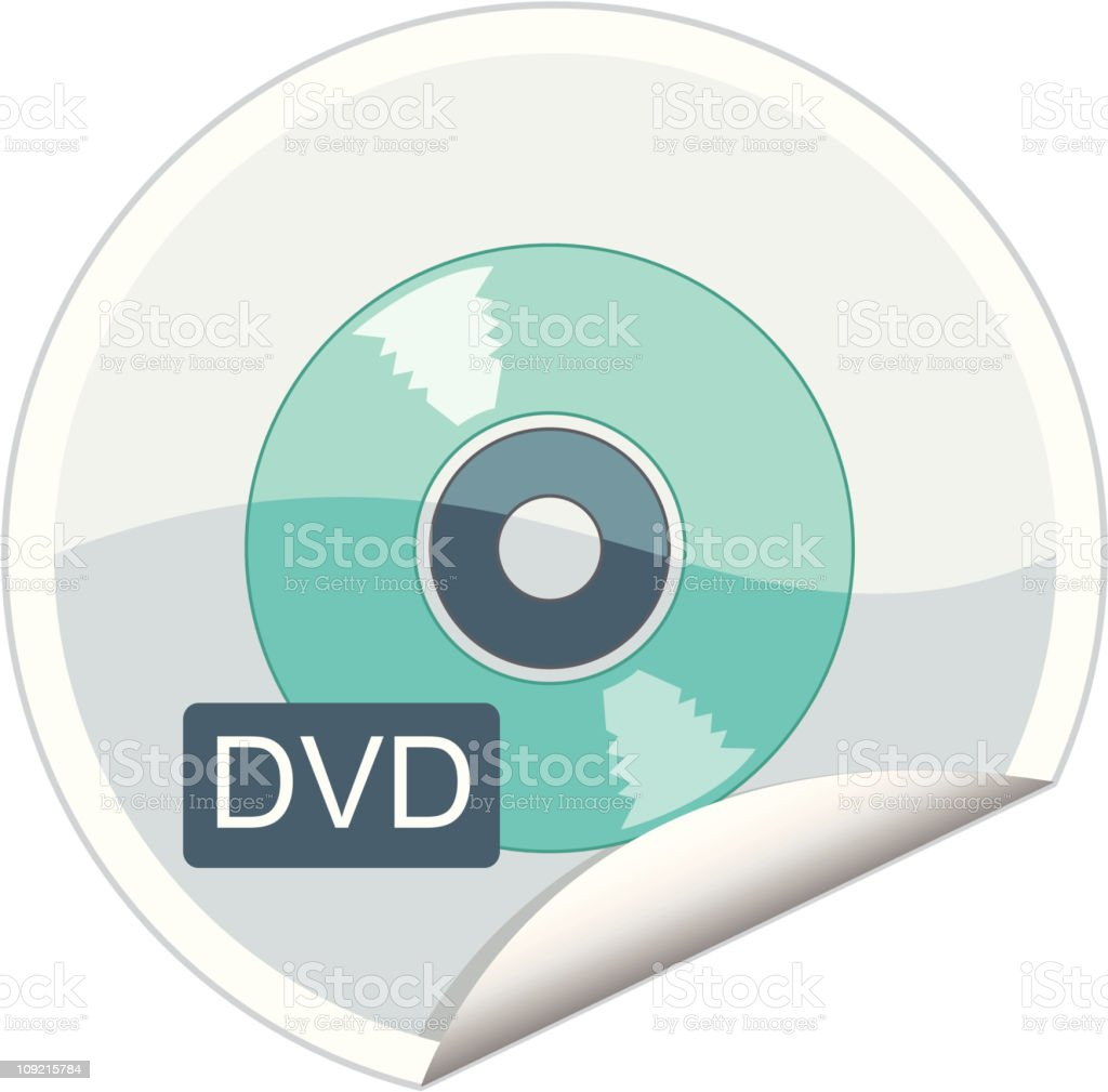 dvd royalty-free dvd stock vector art & more images of color image