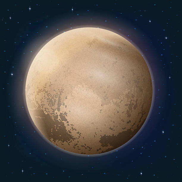 Royalty Free Pluto Dwarf Planet Clip Art, Vector Images ...