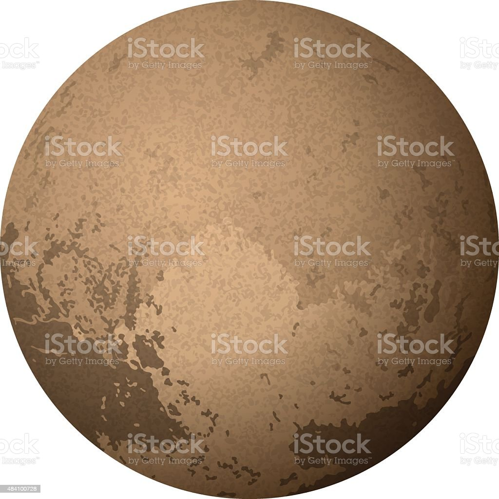 royalty free pluto clip art vector images illustrations istock rh istockphoto com pluto clipart planet pluto clipart free