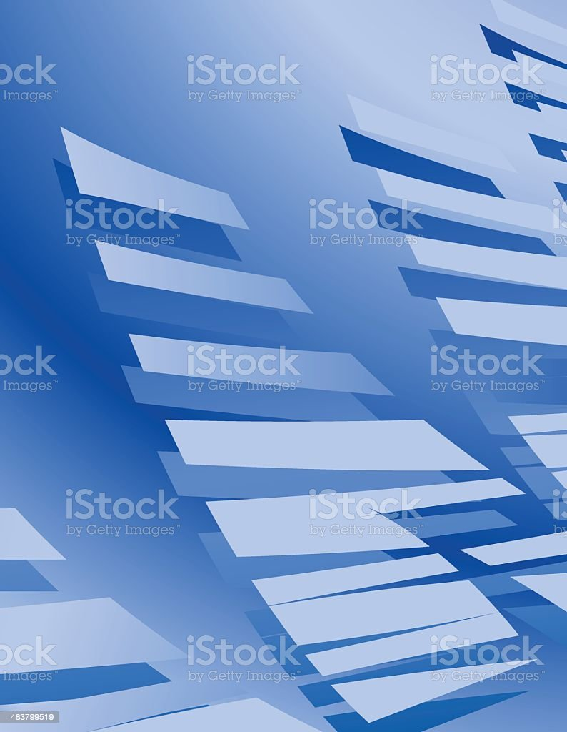 Dynamic Blue Background royalty-free stock vector art