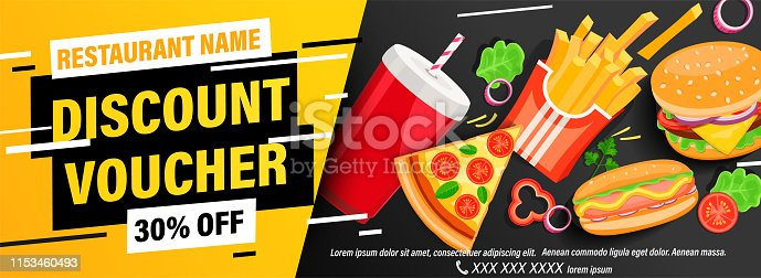 istock Dynamic discount voucher with 30 percent price off 1153460493