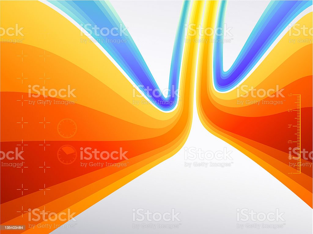 Dynamic Flow Background royalty-free dynamic flow background stock vector art & more images of abstract