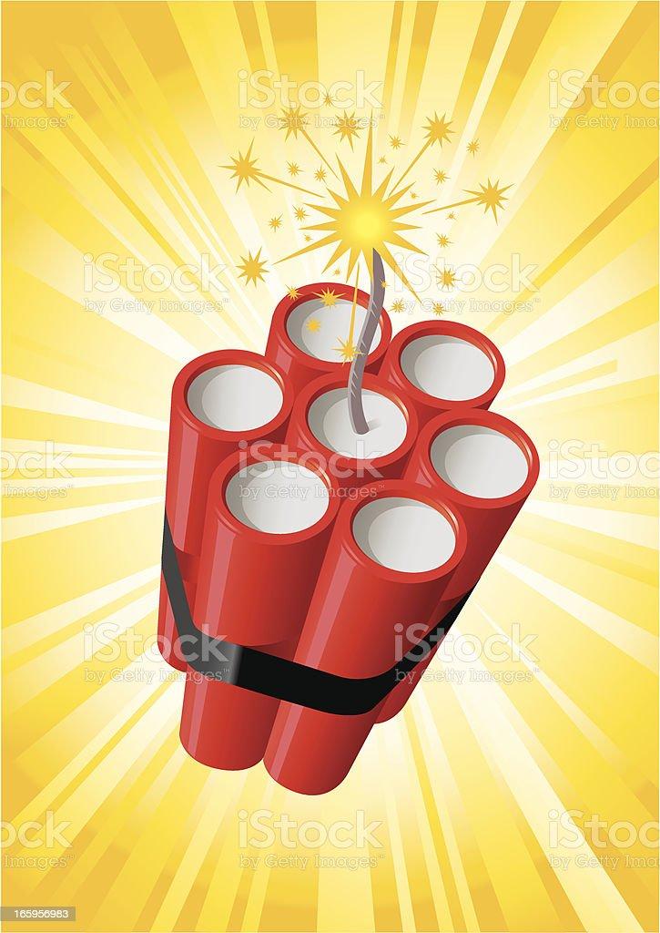 Dynamite Bundle vector art illustration