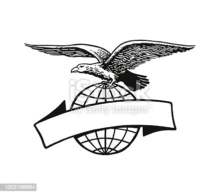 Eagle and Banner
