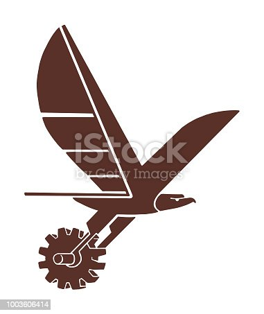 Eagle and Gear