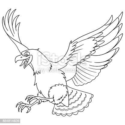 istock Conjunto de siluetas de aves de rapiña Vector 491488110 ...