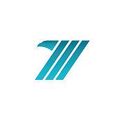 Eagle bird symbol - business logo emblem