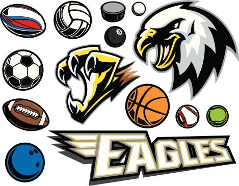 Eagle & Claw Mascot