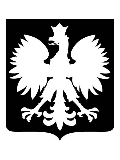 eagle coat of arms - polska stock illustrations