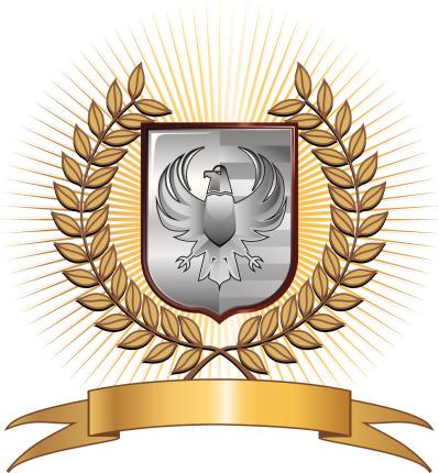 Eagle crest / shield