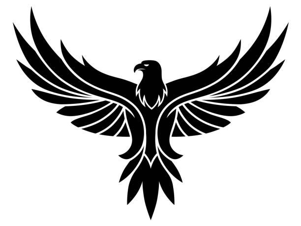 illustrations, cliparts, dessins animés et icônes de emblème de l'aigle - aigle