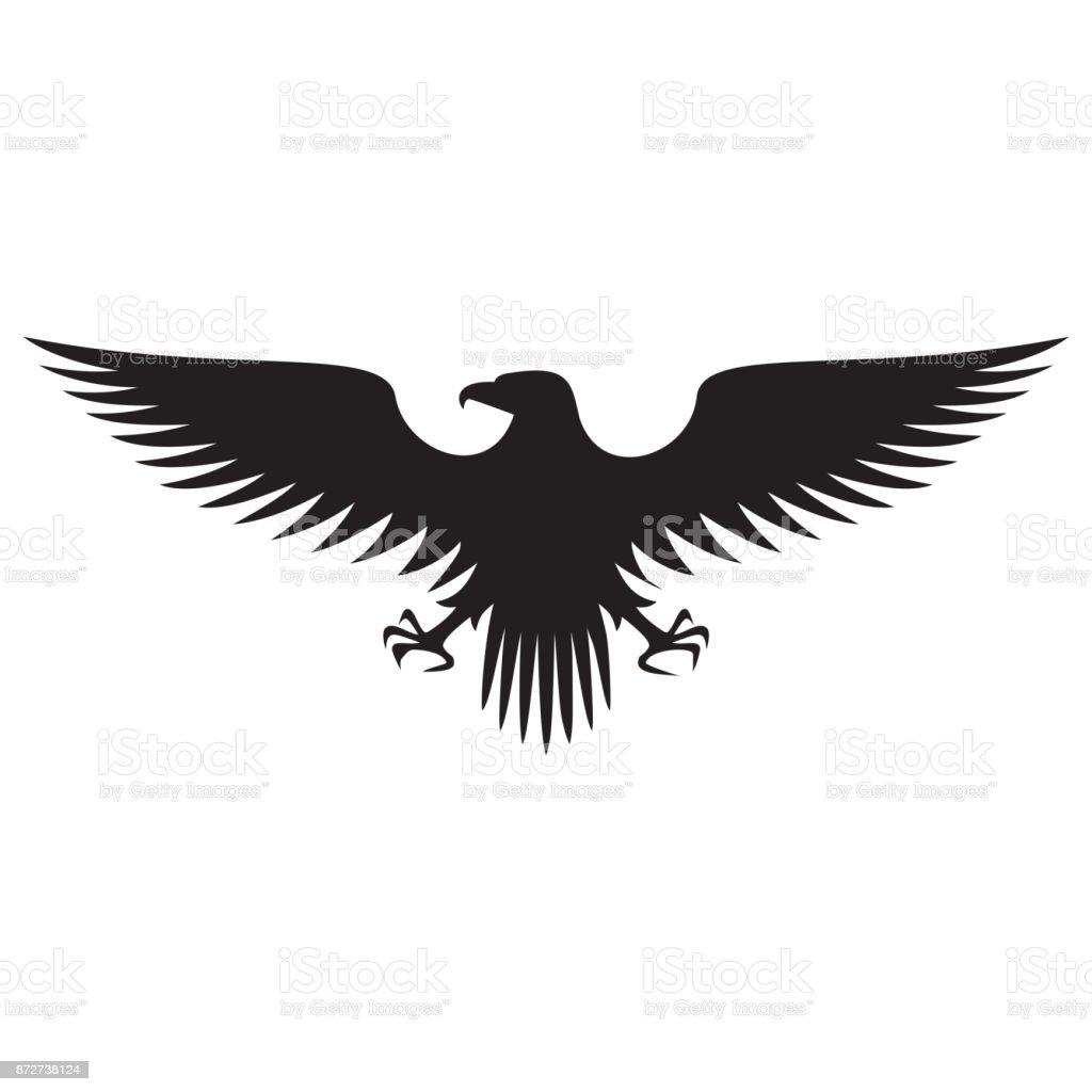 Eagle flying icons
