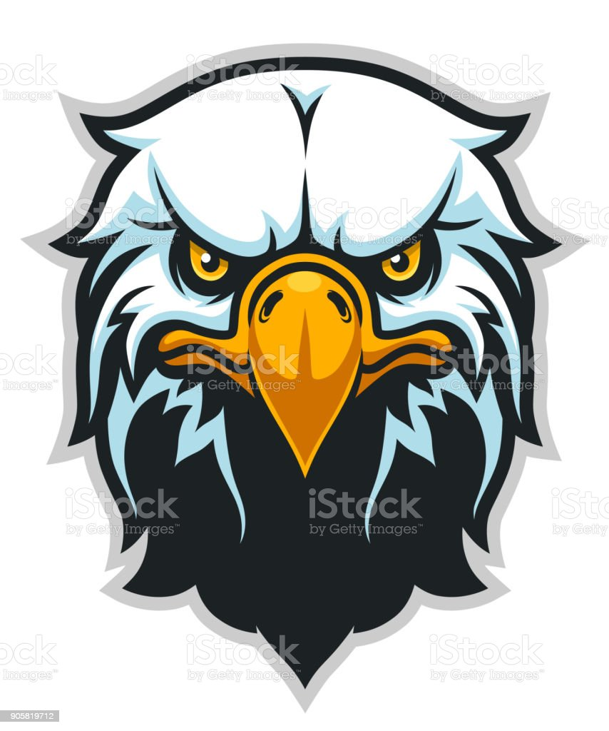 Eagle head front simple