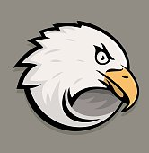 Eagle head icon