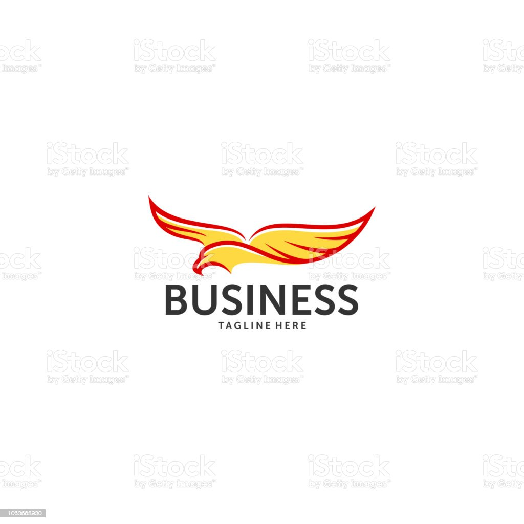 Eagle Head Logo Template Hawk Mascot Graphic Bold Eagle