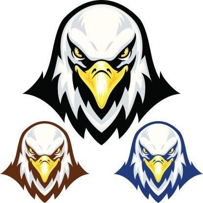 Eagle Head Mascot