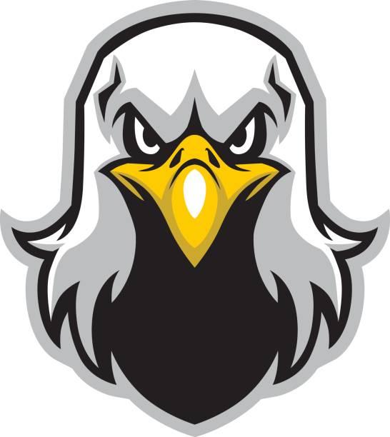 Tête mascotte d'eagle - Illustration vectorielle