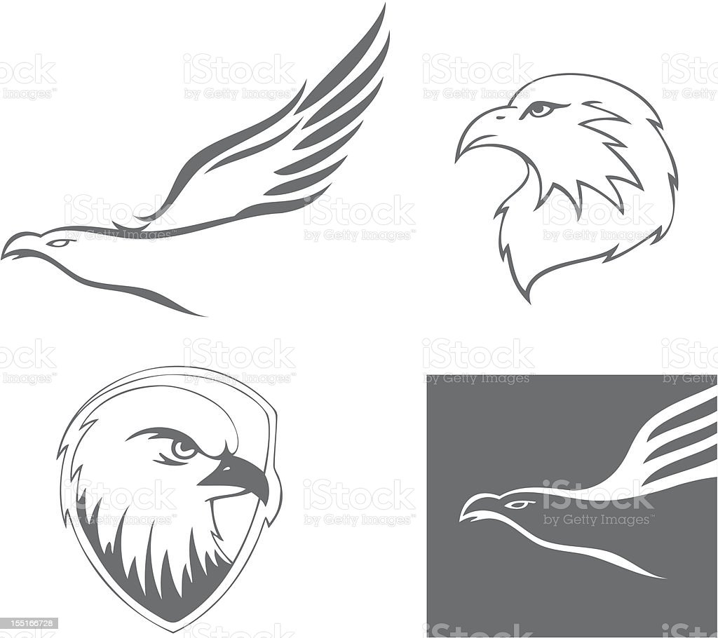 Eagle Head Stock Vector Art & More Images of Animal 155166728 | iStock