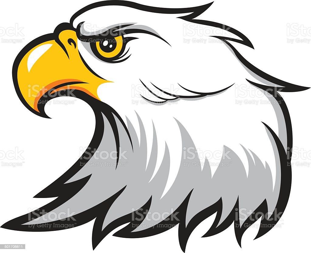 Ilustración de Águila De Cabeza y más banco de imágenes de Agresión ...