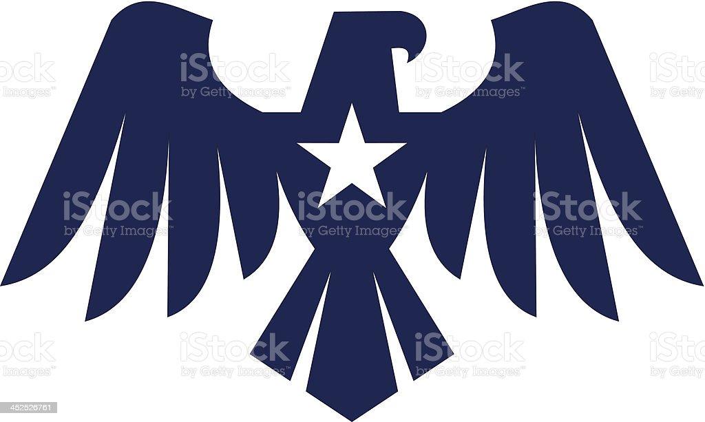 Icono de Eagle - ilustración de arte vectorial
