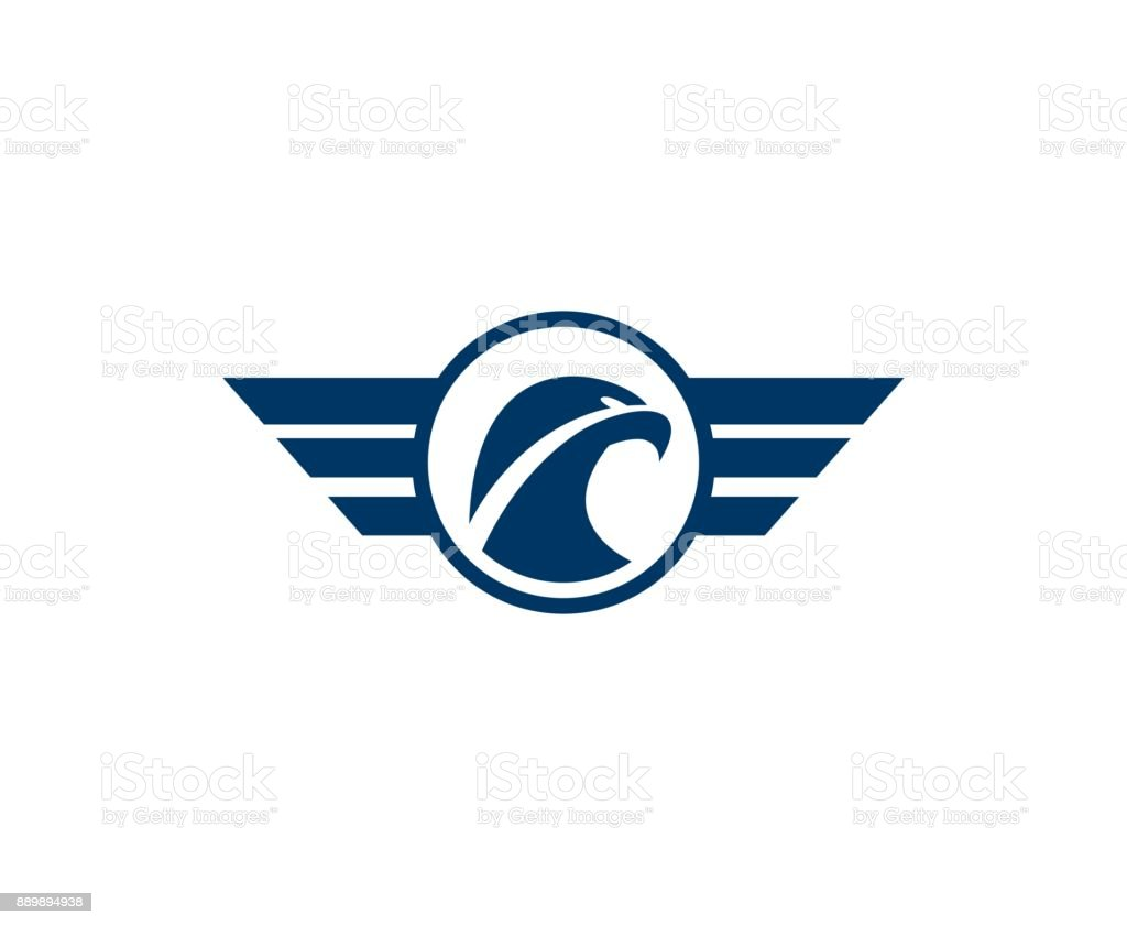Eagle icon royalty-free eagle icon stock illustration - download image now