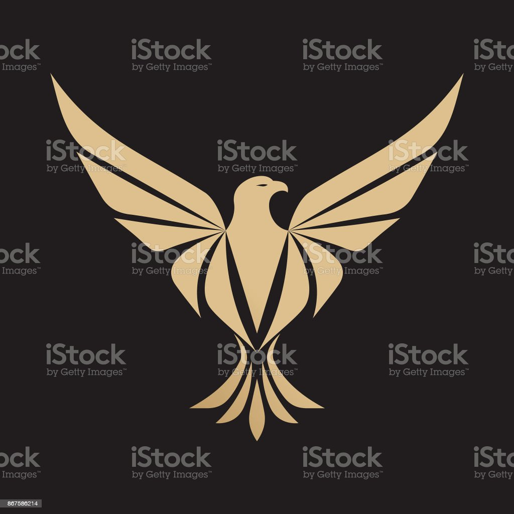 Eagle icon - Vector illustration vector art illustration