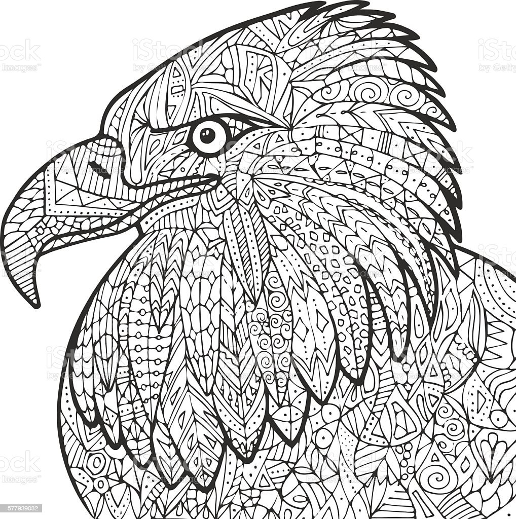 Eagle Illustration Royalty Free Stock Vector Art Amp More Images Of