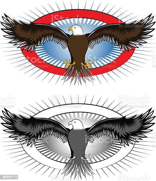 Eagle Logo - Stockowe grafiki wektorowe i więcej obrazów Elipsa