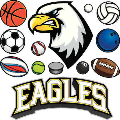 Eagle Mascot Sports Package