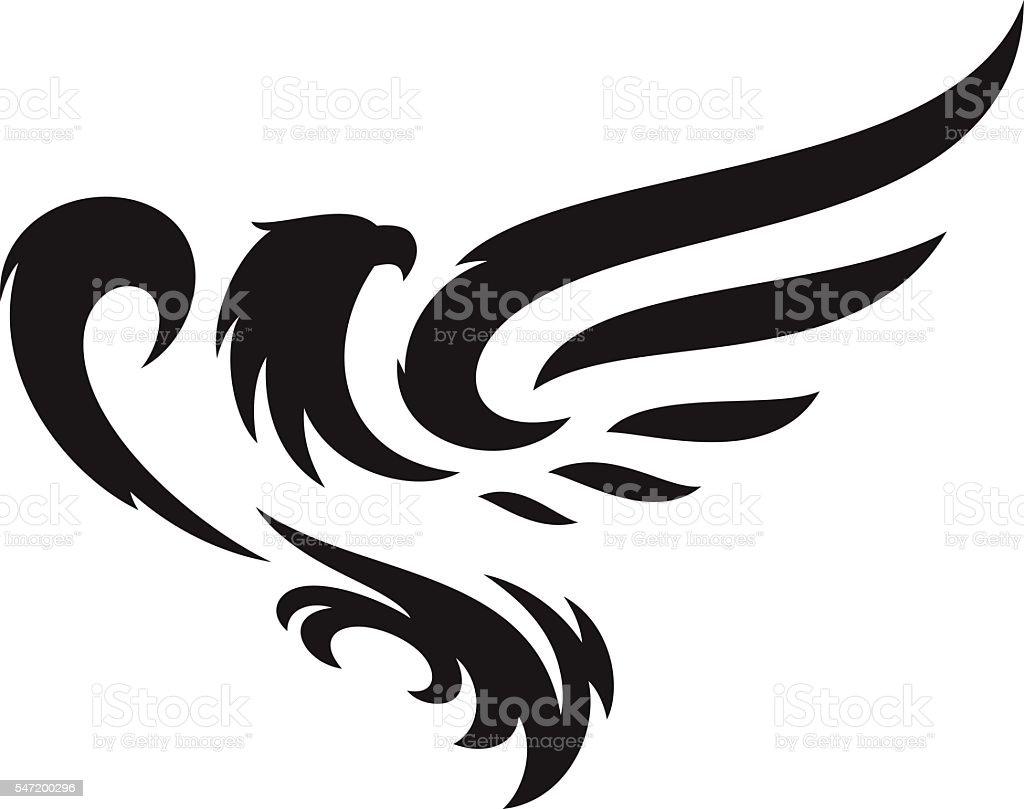 Eagle mascot  - ilustración de arte vectorial