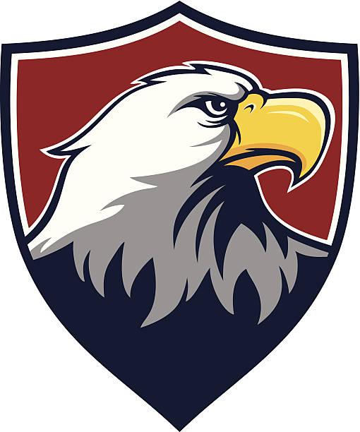 Eagle Shield - ilustración de arte vectorial