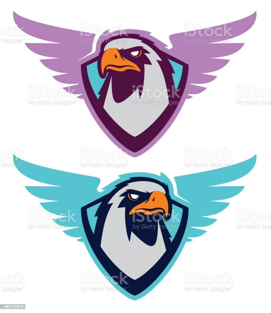 Eagle sport icontype royalty-free eagle sport icontype stock vector art & more images of aggression