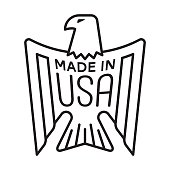 MADE IN USA - Eagle Stamp