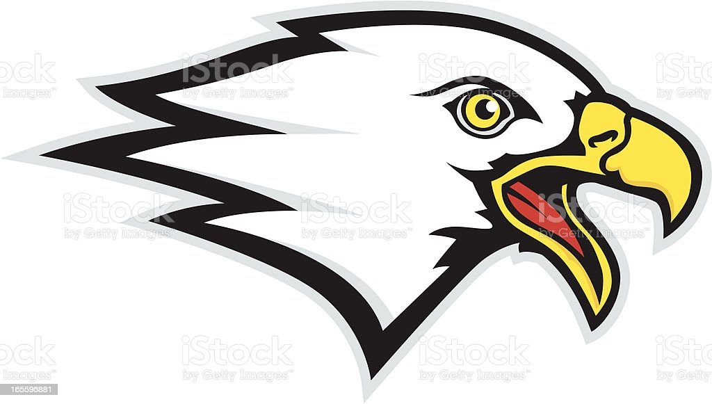 Eagle Swoop Mascot royalty-free eagle swoop mascot stock vector art & more images of aggression