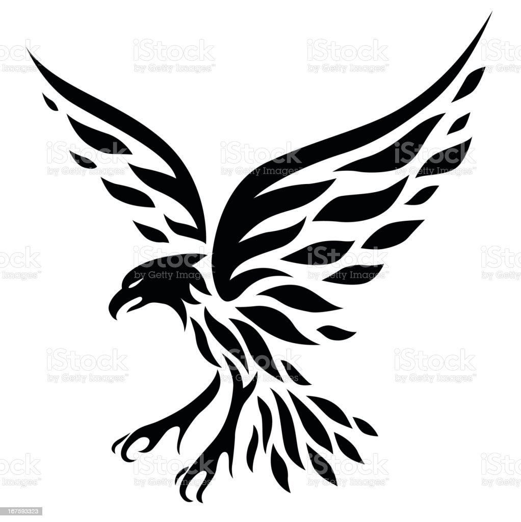 Eagle Tattoo Stock Vector Art Amp More Images Of Ancient