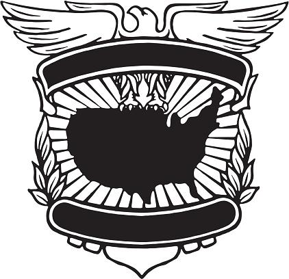 Eagle USA Border