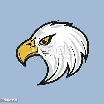 eagle. eps 10 vector file