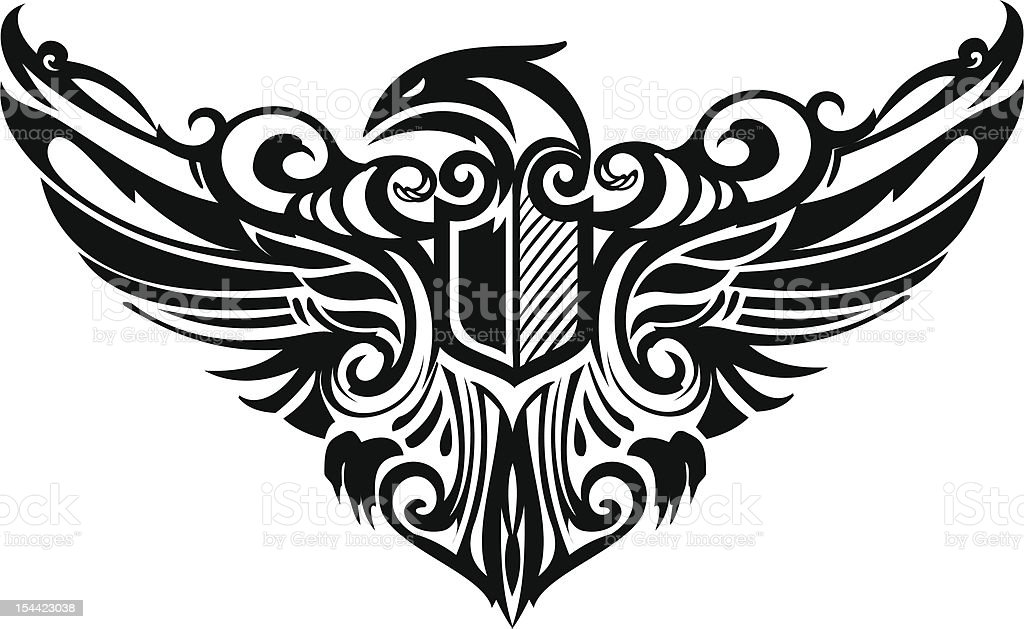Eagle royalty-free eagle stock vector art & more images of abstract