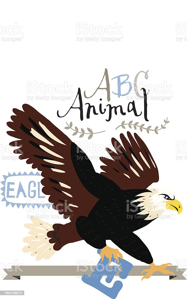 ABC eagle royalty-free abc eagle stock vector art & more images of alphabet