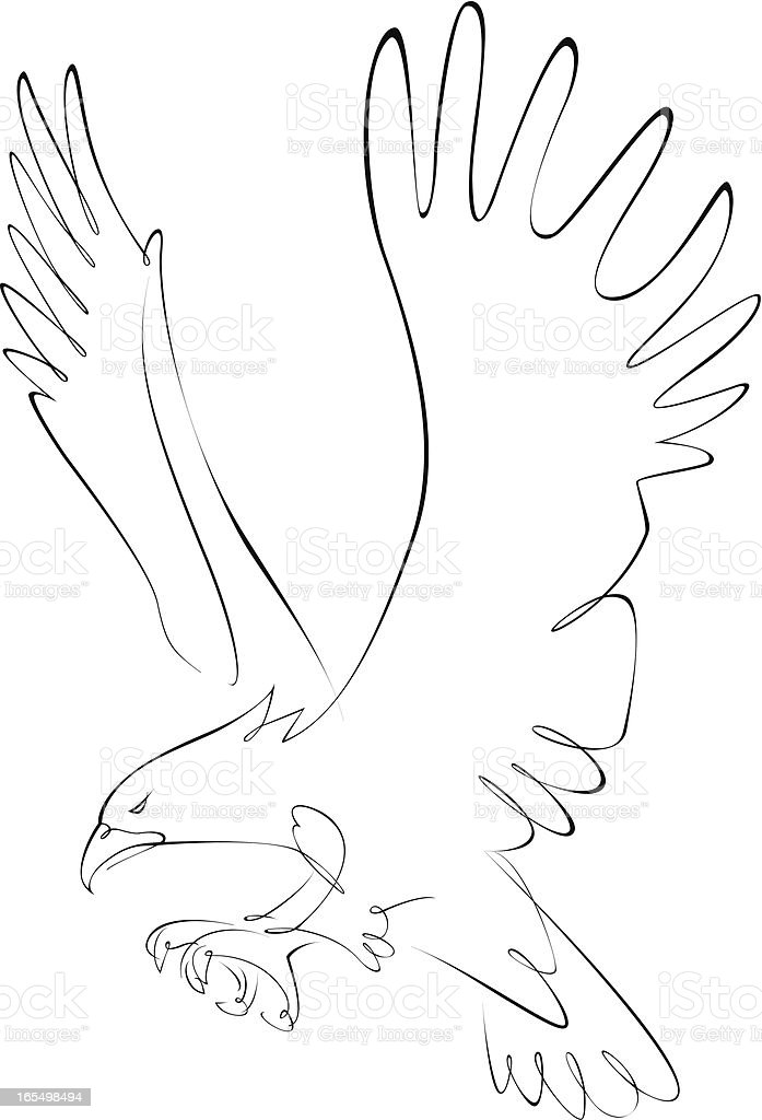 Eagle royalty-free eagle stock vector art & more images of american culture