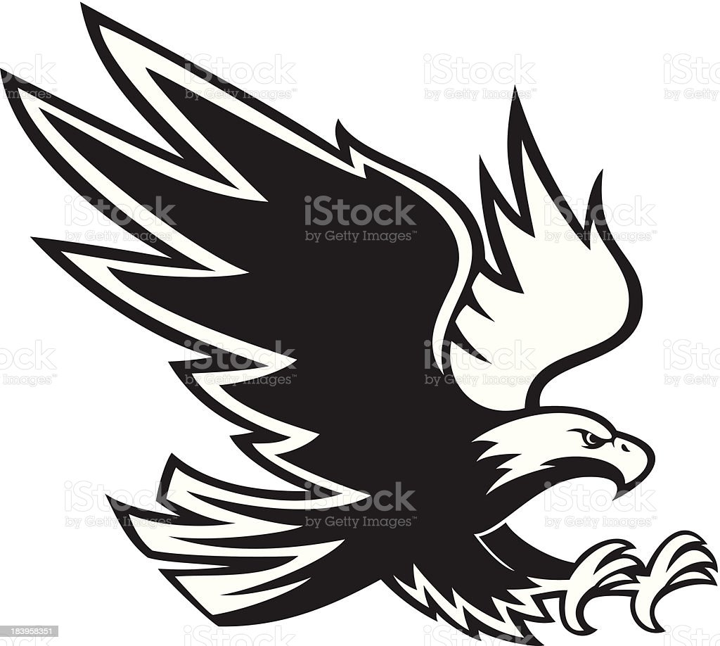 royalty free american eagle vector clip art vector images rh istockphoto com eagle vector image eagle vector art free