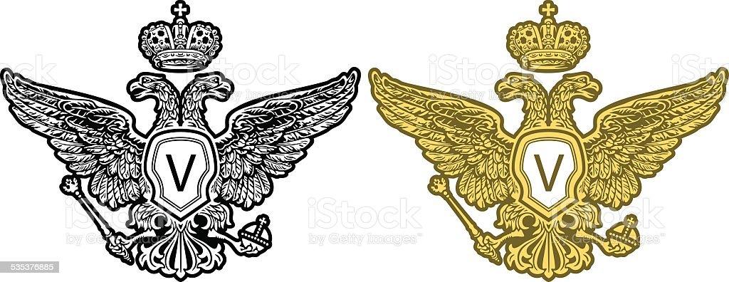 Eagle  vector picture vector art illustration