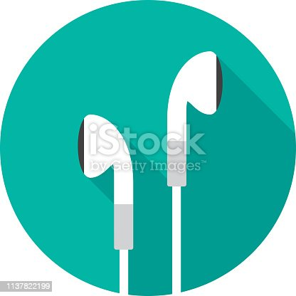 istock Earbuds Icon Flat 2 1137822199