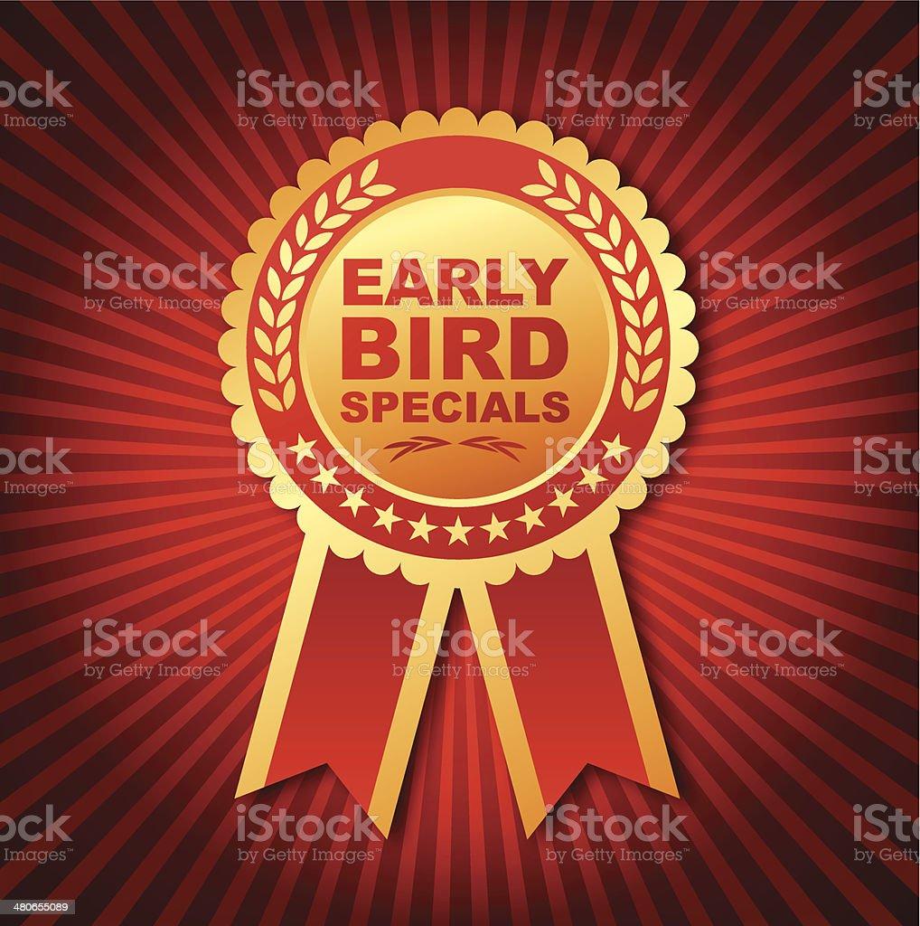 Early Bird Specials Emblem royalty-free early bird specials emblem stock vector art & more images of bird