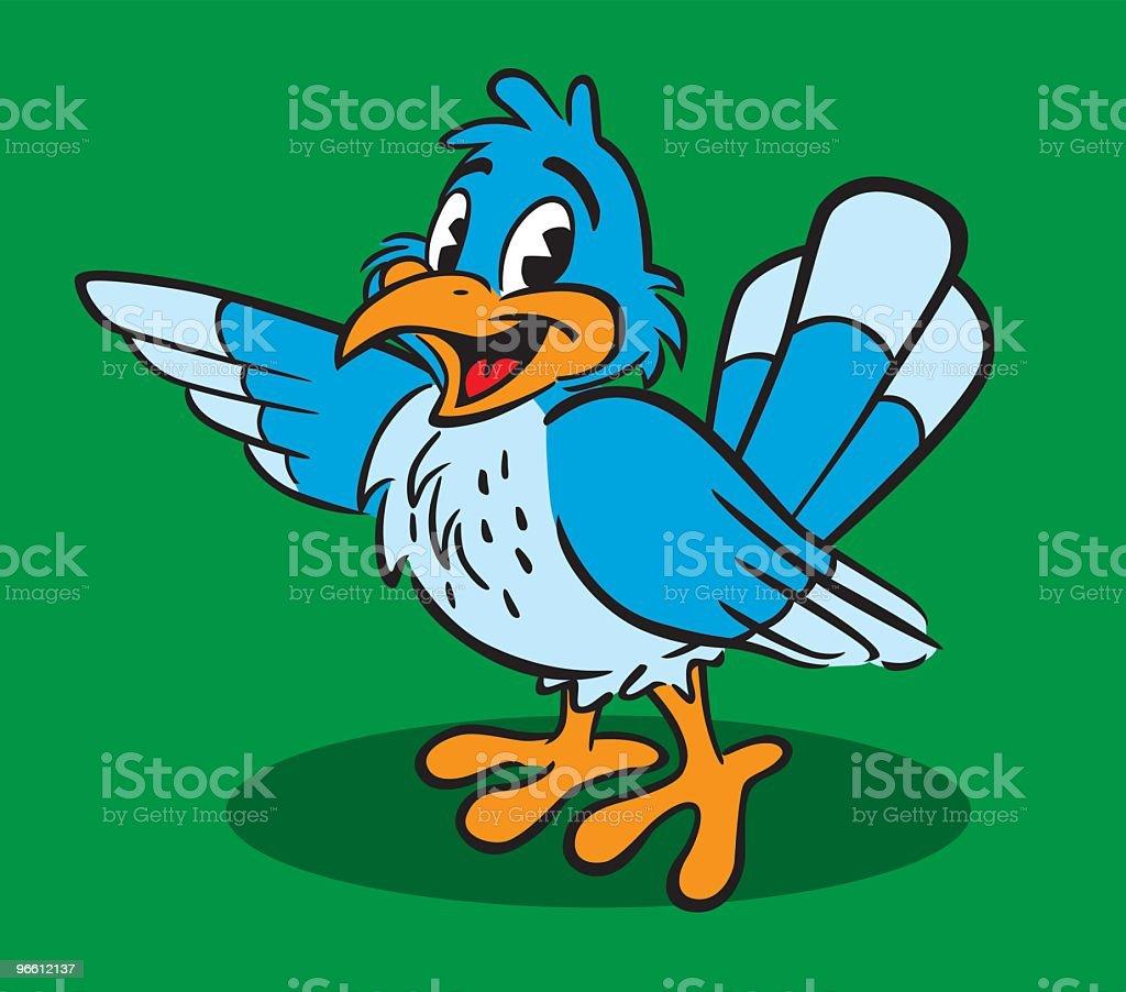 Early Bird - Royaltyfri Blå vektorgrafik