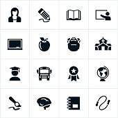Early Education Icon Set
