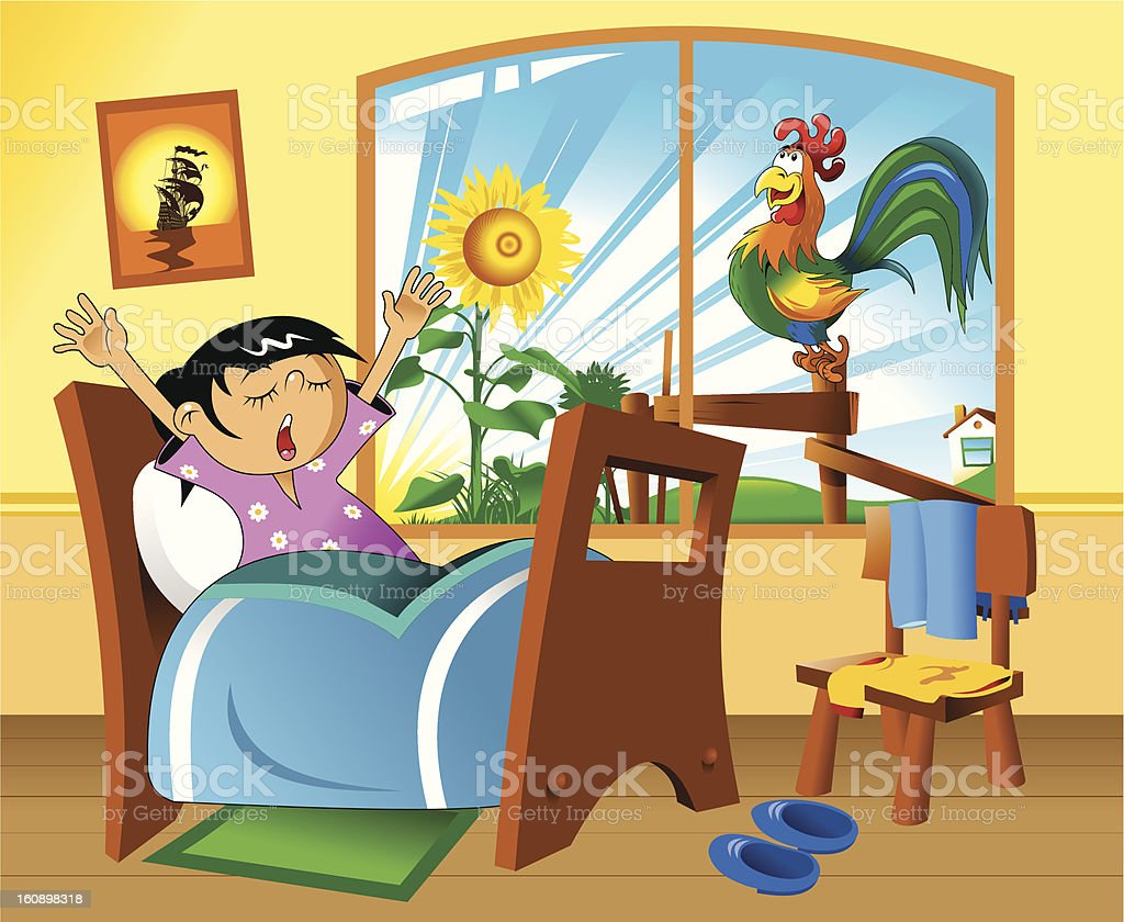 early morning royalty-free early morning stock vector art & more images of adult