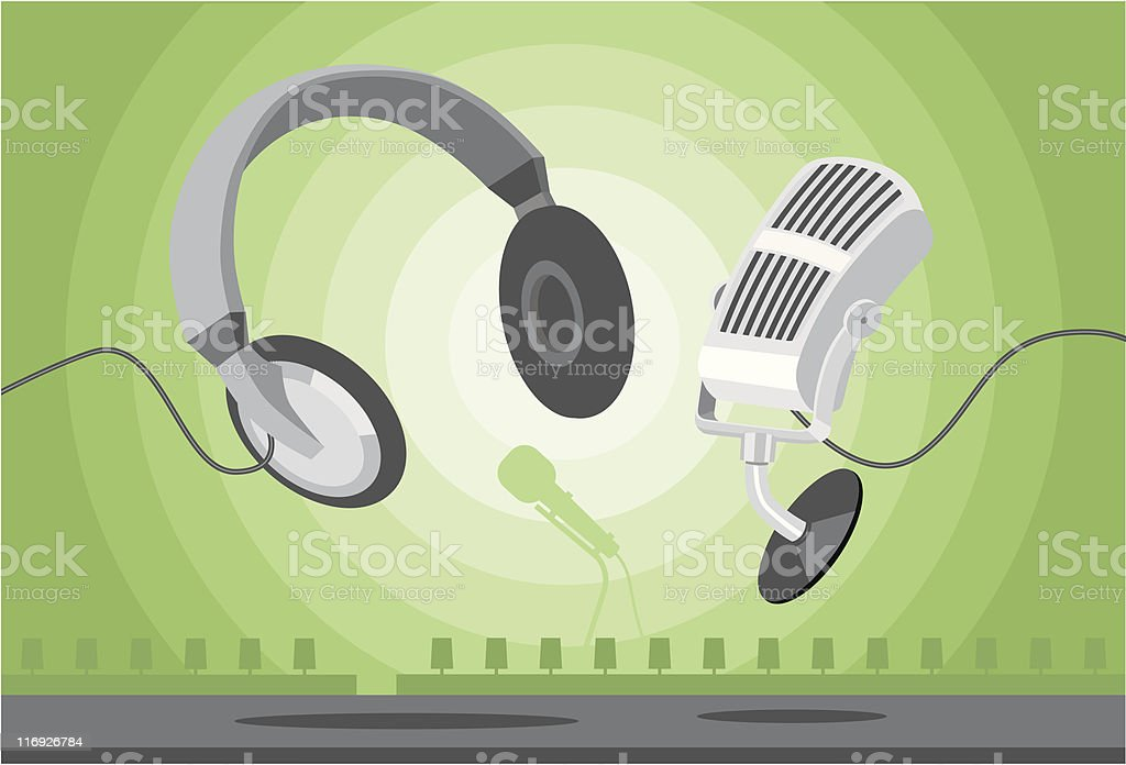 earphone & mike royalty-free earphone mike stock vector art & more images of bluetooth